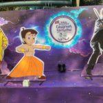 ইন্টারন্যাশনাল চিলড্রেন ফিল্ম ফেস্টিভ্যালে নন্দন চত্বর কিভাবে সেজে উঠছে ছবিতে দেখে নিন