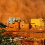#VIRAL: শহর ঢাকল লাল বালির ঝড়ে, নিমেশে আকাশের রঙ হয়ে গেল লাল (ভিডিও)