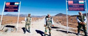 Indian China border at Ladakh