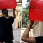 #VIRAL: লাল বালতি মাথায় নিয়ে শক্তি কাপুর পুরো সোসাইটির জন্য মদ আনতে যাচ্ছেন (ভিডিও)