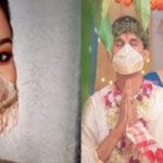 বর-কনের বিয়ের পোশাকে ম্যাচিং মাস্ক, বিক্রি হচ্ছে খোদ কলকাতাতেই