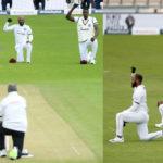 ইংল্যান্ড বনাম ওয়েস্ট ইন্ডিজ: ক্রিকেটের বর্মে বর্ণবাদের বিরুদ্ধে প্রতিবাদে শামিল দুই দেশ