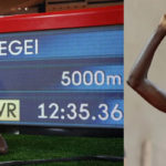 ১৬ বছরের পুরনো ৫০০০ মিটারের বিশ্বরেকর্ড ভাঙলেন উগান্ডার চ্যাপ্টেগেই