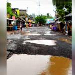 তারাপীঠ এলাকার রাস্তার হাল বেহাল: বিডিওকে চিঠি বিধায়কের
