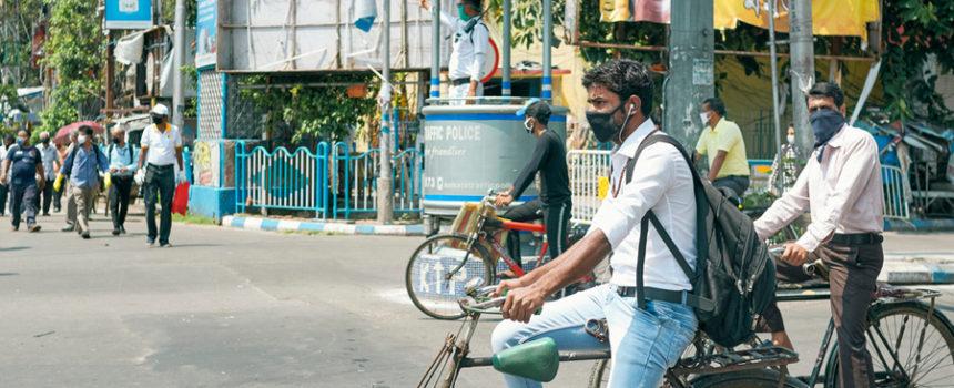 Cycle Lane in Kolkata