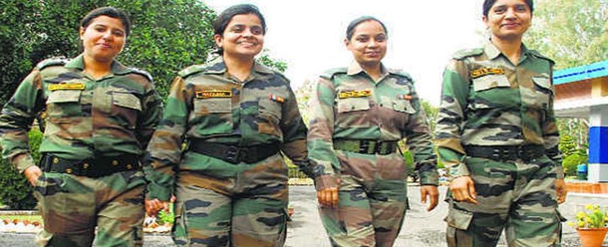 Indian army lady