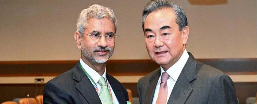Wang Yi in and jayshankar