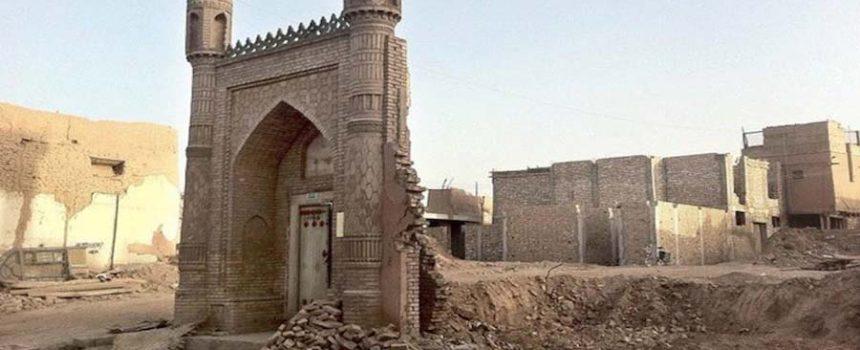 broken masjid