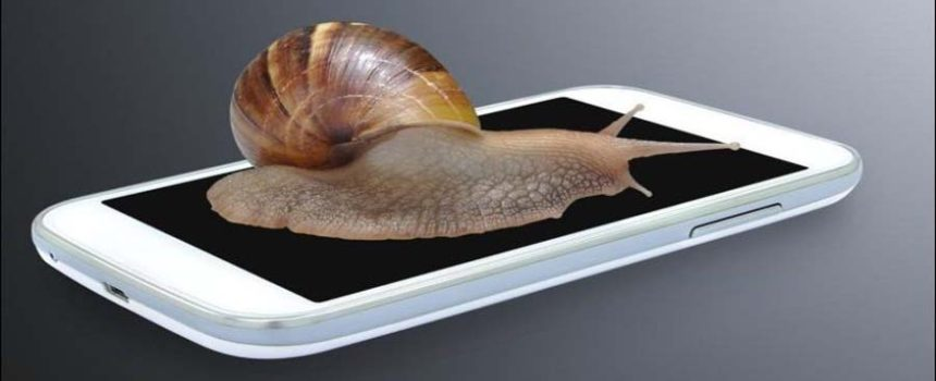slow mobile phone