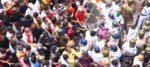 বিজেপির নবান্ন অভিযান ঘিরে হুলুস্থুলু কান্ড, চলল জল কামান ও কাঁদানে গ্যাস