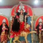 দুর্গা দশমীর শেষে আরেক দুর্গাপুজো