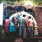 স্মৃতির ভেলায় চড়ে বাঁকুড়ার বড়চাতরা গ্রামের দুর্গাপুজো