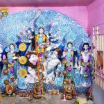 বসিরহাটের দুর্গাপুজো: থিম আর সাবেকিয়ানার যুগলবন্দি