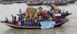ইছামতীতে বিসর্জন বসিরহাটের ঐতিহ্য: করোনায় পড়ল ছেদ