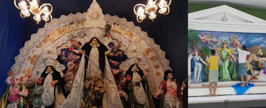 Durga Puja Shantipur