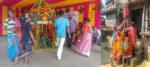 শান্তিপুরের খাবড়াডাঙার করম পুজোয় যেন উঠে আসে আদিবাসীদের যন্ত্রণার কথা