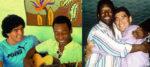 অনলাইনে পেলেকে ৮০তম জন্মদিনের শুভেচ্ছা মারাদোনার