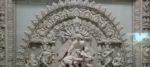রাষ্ট্রপতি পুরস্কার প্রাপ্ত মৃৎশিল্পী তড়িৎ পালের দুর্গা প্রতিমা এবার পাড়ি দিল জার্মানিতে