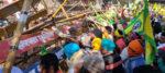 কৃষকদের দিল্লি অভিযান রুখতে বেধড়ক লাঠিচার্জ হরিয়ানা পুলিশের