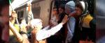 ধর্মঘট সফল করতে যাদবপুর রেল স্টেশনে সুজন চক্রবর্তী
