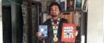 নবদ্বীপের তীর্থেন্দু কবিতা লিখে জায়গা করে নিলেন ইন্ডিয়া বুক অফ রেকর্ডে