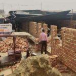 কৃষক আন্দোলনের ১০৯ দিন: দিল্লি সীমান্তে কৃষকরা তৈরি করছেন পাকা বাড়ি