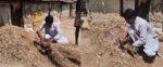 গোয়াল ঘরে ছানি কেটে প্রচারে প্রার্থী